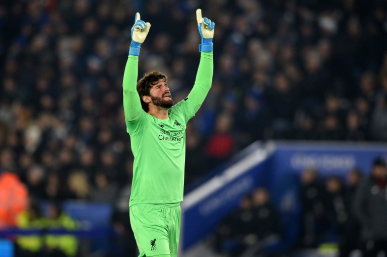 Number One: Liverpool's Alisson Becker has kept nine clean sheets in his last 10 Premier League games.