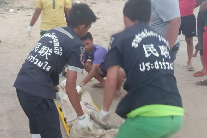 Body washed ashore in Nakhon Si Thammarat
