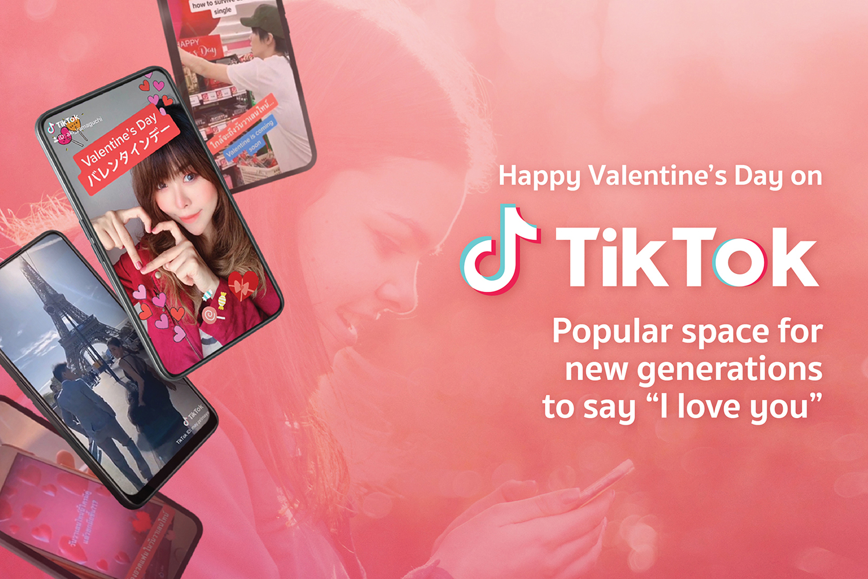 Happy Valentine S Day On Tiktok Where New Generations Like To Say I Love You