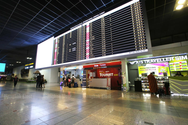 THAI cancels flights due to virus