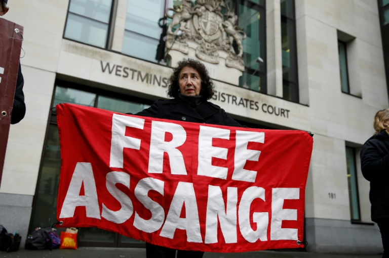 The revelation came at a case management hearing at Westminster Magistrates' Court before Monday's formal start of Washington's extradition request for him to face espionage charges.