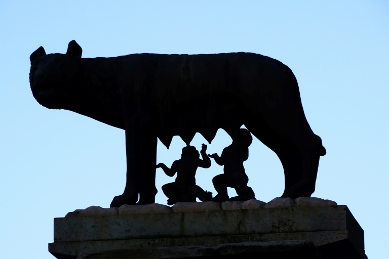 Rome unveils tomb that may belong to wolf-suckled king Romulus