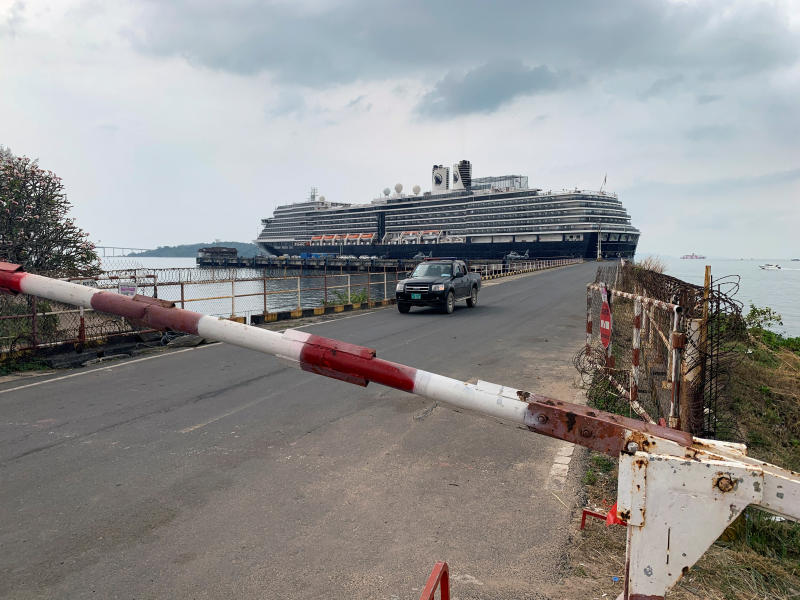 Crew on cruise ship docked in Cambodia test negative for virus