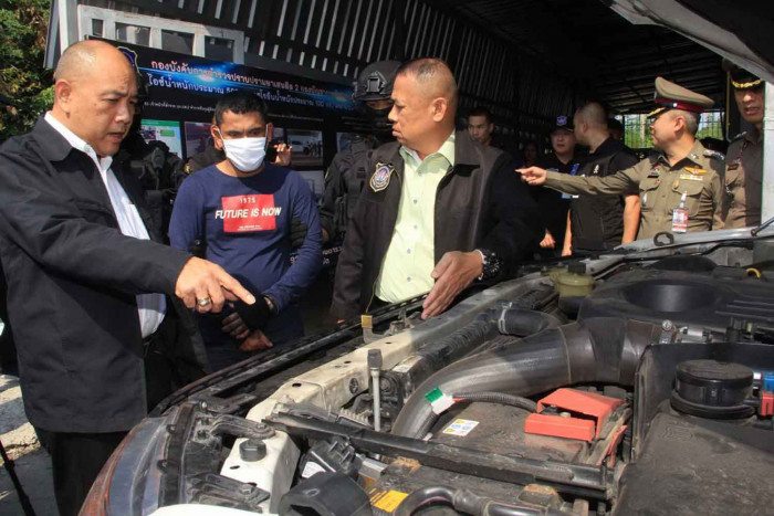 Smugglers followed from Nong Khai, busted