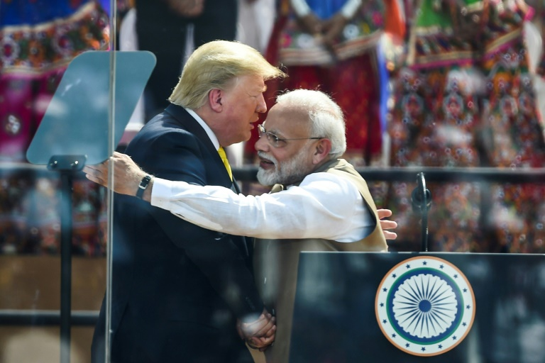 'America Loves India,' Trump Declares at Rally With Modi