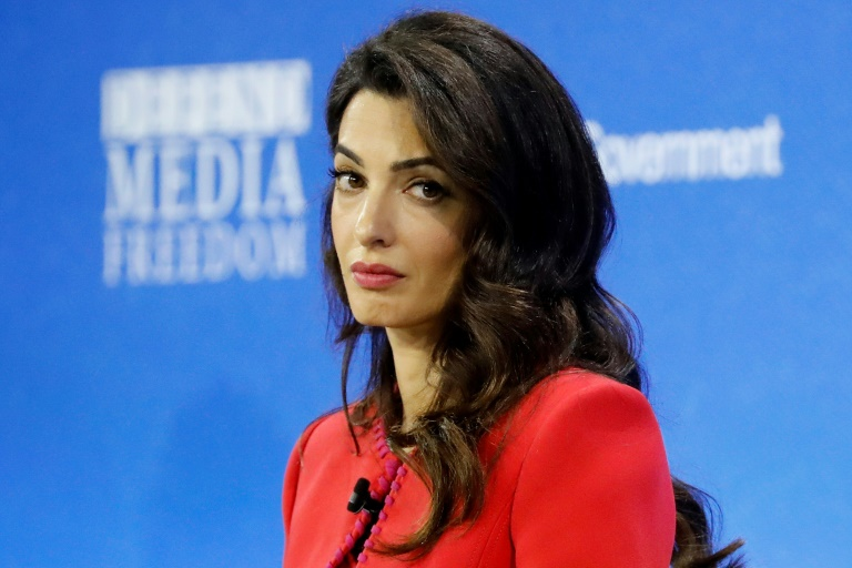 Human rights lawyer Amal Clooney will represent the Maldives at the UN's highest court in the Rohingya case.