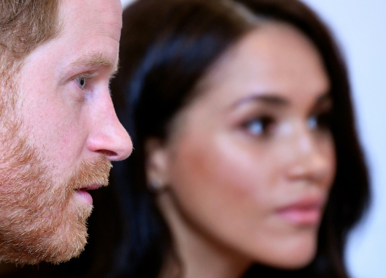 Britain's Prince Harry returned to Britain to fulfill the first of a final round of his duties as a royal before he and his wife Meghan step back from their role.