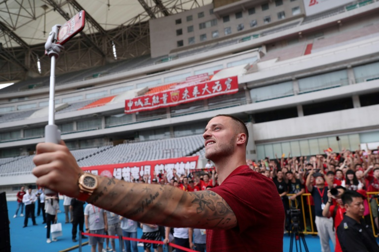 Austrian striker Marko Arnautovic left West Ham United for Shanghai SIPG in the Chinese Super League.