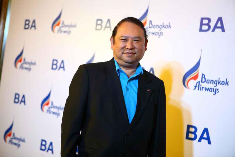 Bangkok Airways president Puttipong Prasarttong-Osoth.(Supplied)
