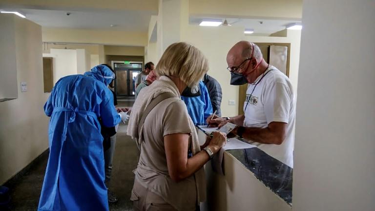 Italian tourists in India quarantined with coronavirus
