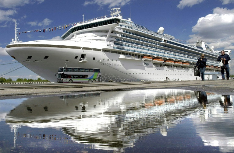 The Grand Princess, which belongs to Princess Cruises, the same company which operated the coronavirus-stricken ship held off Japan last month on which more than 700 people on board tested positive.