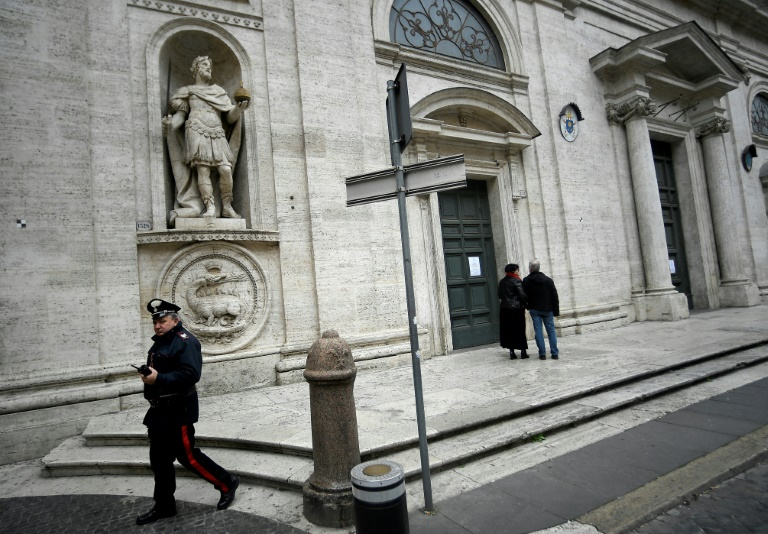 All Catholic churches across Rome have been closed to stem the spread of the coronavirus, while all Masses, weddings and funerals across Italy have been called off.