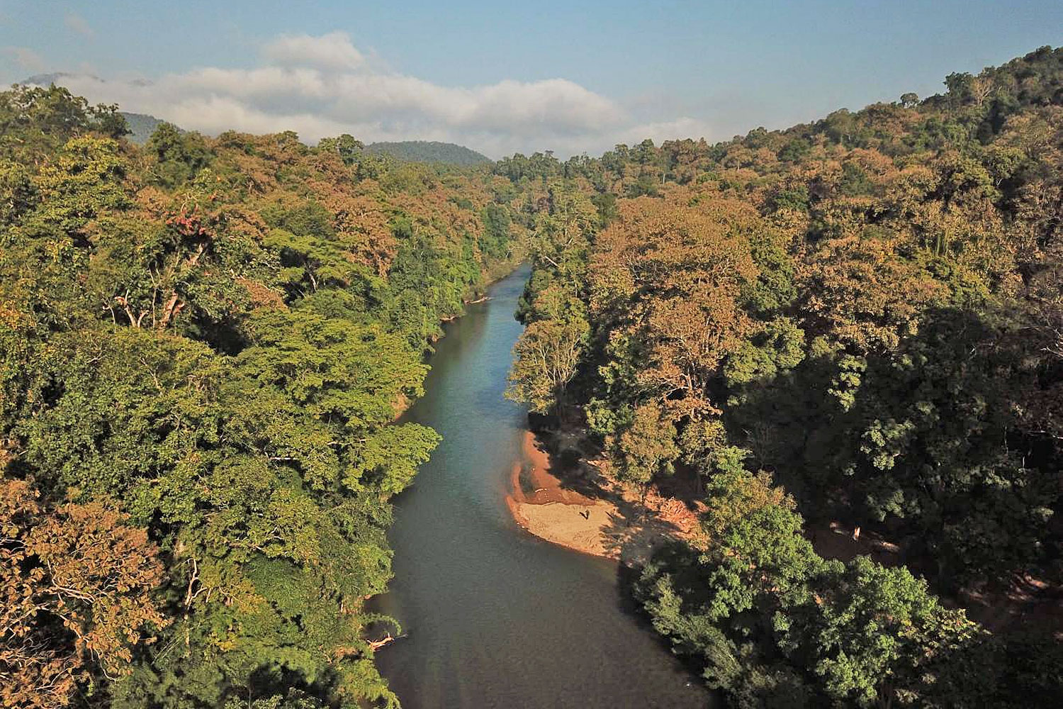 The Ngao River, which flows from a lush forest in Thailand's Salween basin, will be adversely affected if the water diversion project materialises.