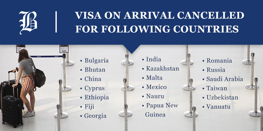 Govt Endeavours To Clear Up Visa Entry Confusion