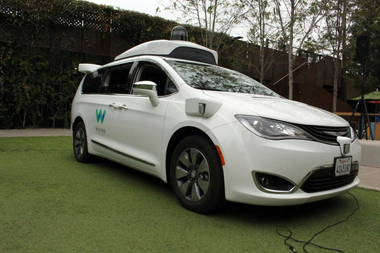 A Waymo self-driving car. The allegations against Levandowski emerghed when Waymo accused Uber of stealing trade secrets.