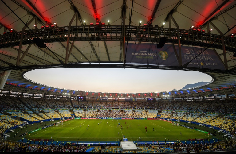 File photo of the Maracana stadium in Rio de Janeiro on June 16, 2019.