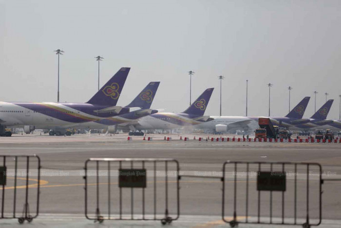 Thai Airways suspends its flights