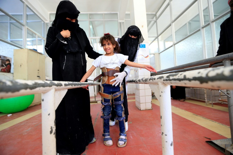 Save the Children said more than 7,522 youngsters have been killed or maimed over the past five years in the Yemen conflict
