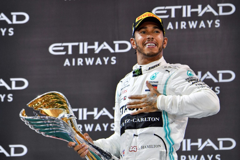 Lewis Hamilton is the reigning Formula One world champion.