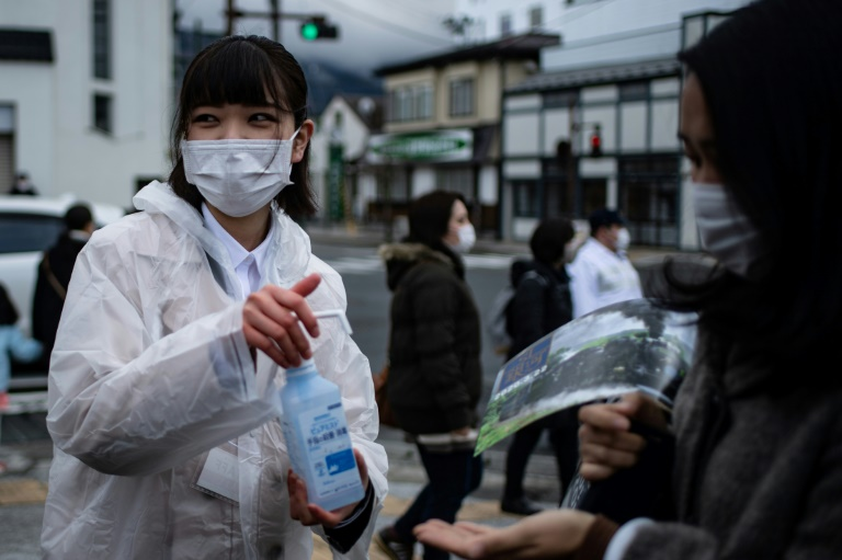 Handwashing and hygiene in Japan has helped push down the number of flu infections this year, officials say