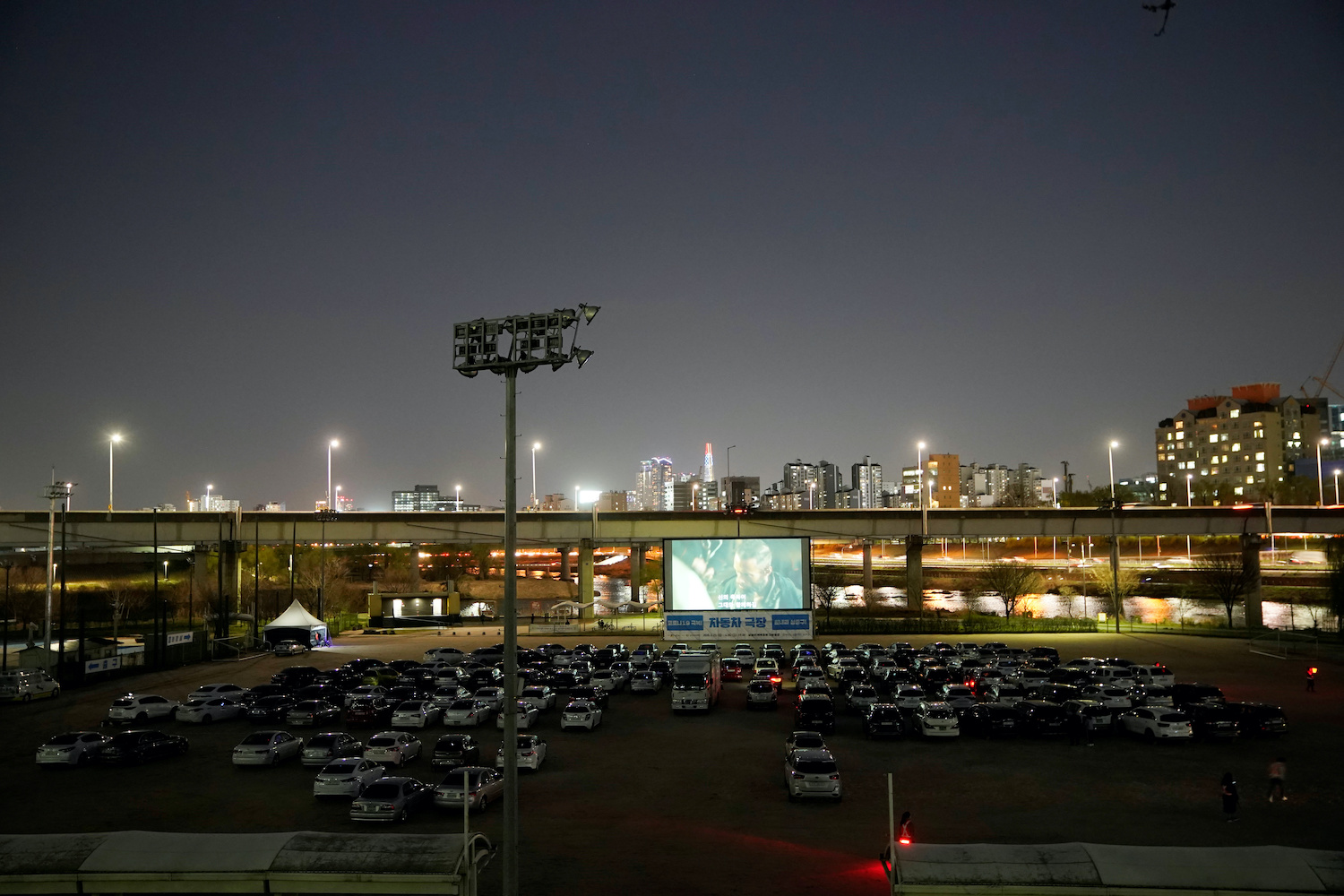 Remember the drive-in movie theatre? They're making a temporary comeback in Seoul as a way to enjoy movies while adhering to social distancing. (Reuters Photo)