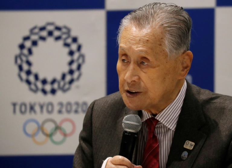Yoshiro Mori, President of the Tokyo 2020 Olympic Games Organising Committee, faces an unprecedented challenge. (AFP photo)