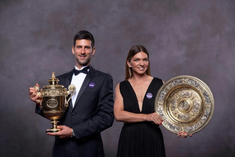 Novak Djokovic and Simona Halep were Wimbledon singles champions in 2019.