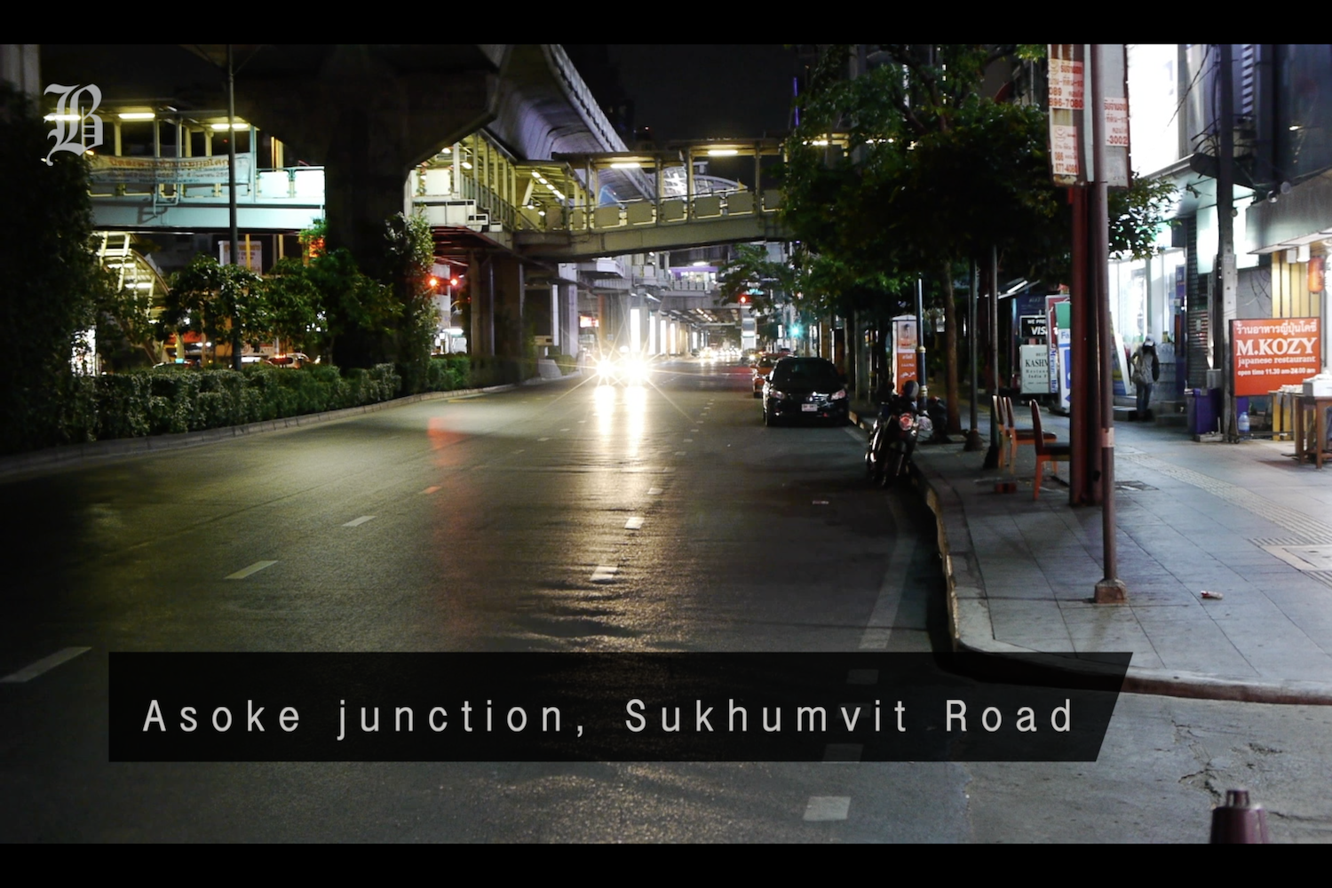 VIDEO: Bangkok Empty