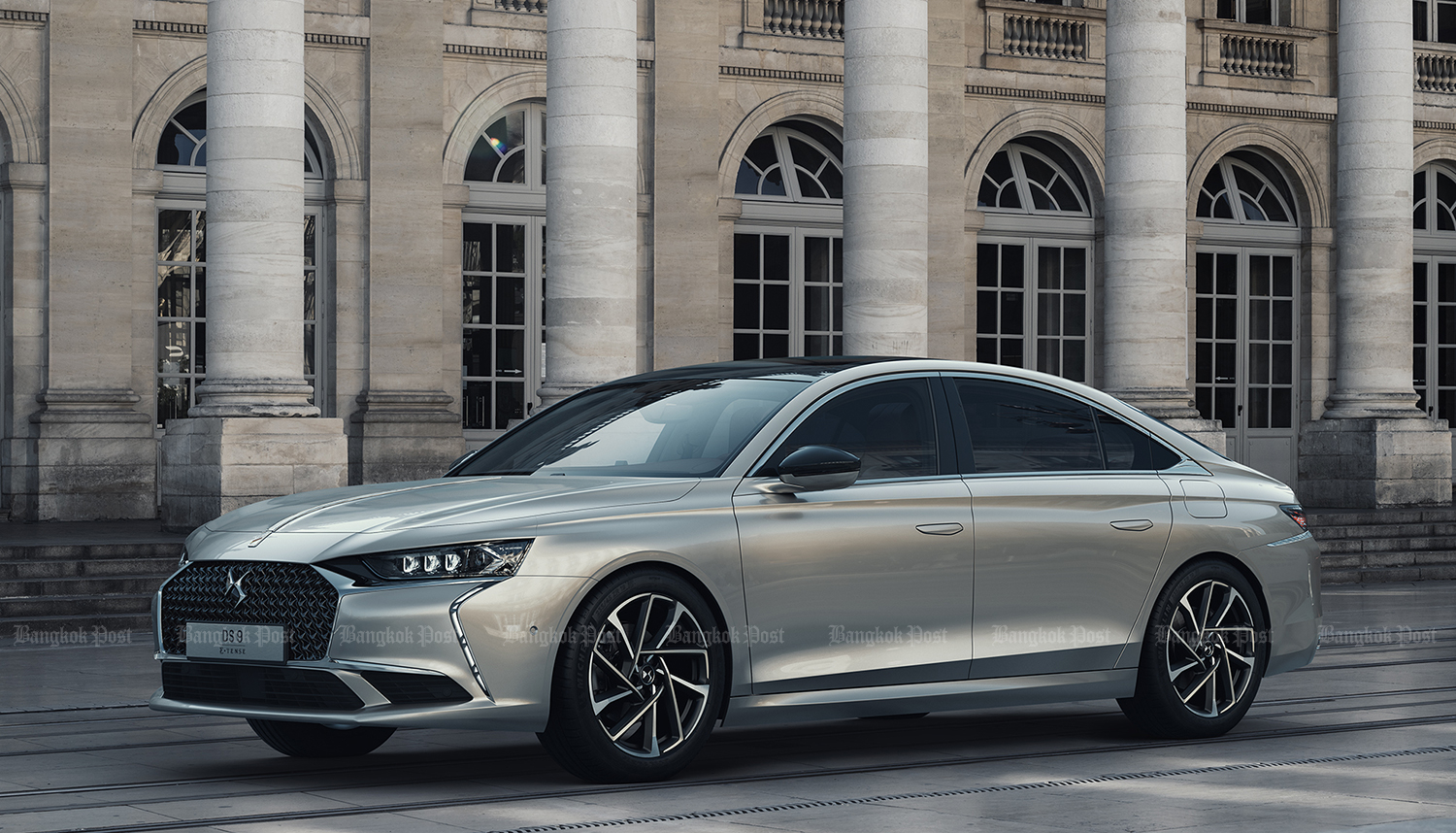 New DS 9 flagship showcased with plug-in hybrid tech