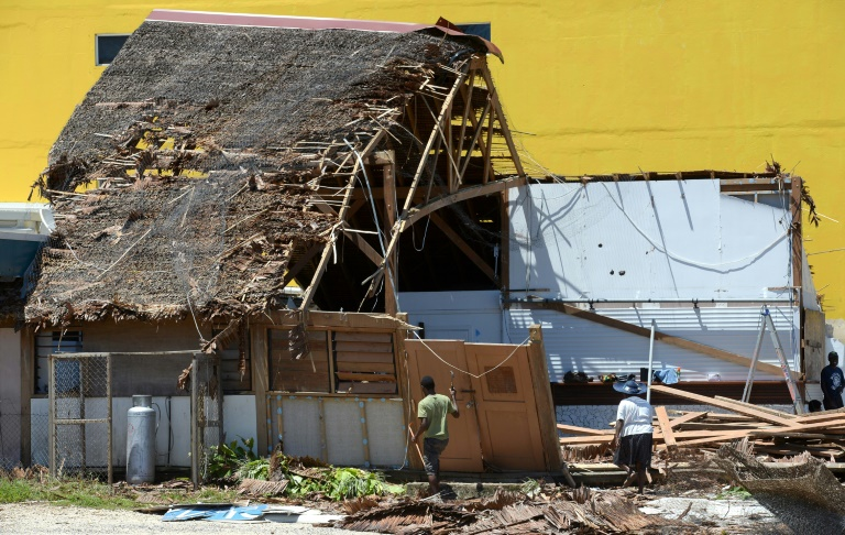 With Cyclone Harold strengthening, Vanuatu is still recovering from the last time a scale-topping, Category-Five system, Cyclone Pam, hit the impoverished Pacific nation in 2015, pictured.