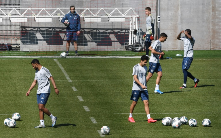 As Bundesliga Clubs Resume Training A Debate Over Fairness And Fitness