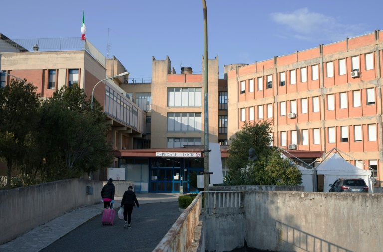 The hospital in Locri in southern Italy has long been beset by problems.