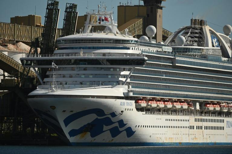 Australian police raid virus-hit cruise ship, seize 'black box'