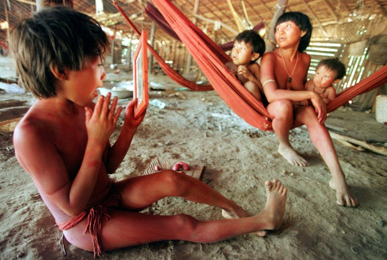The Yanomami people live in remote areas of the Amazon and are known for their vulnerability to foreign diseases.
