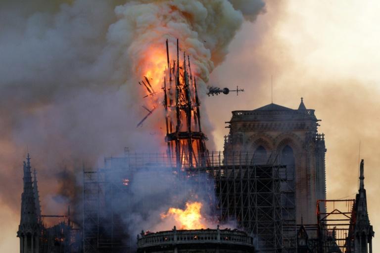Paris archbishop welcomes Macron's renewed pledge to rebuild Notre Dame