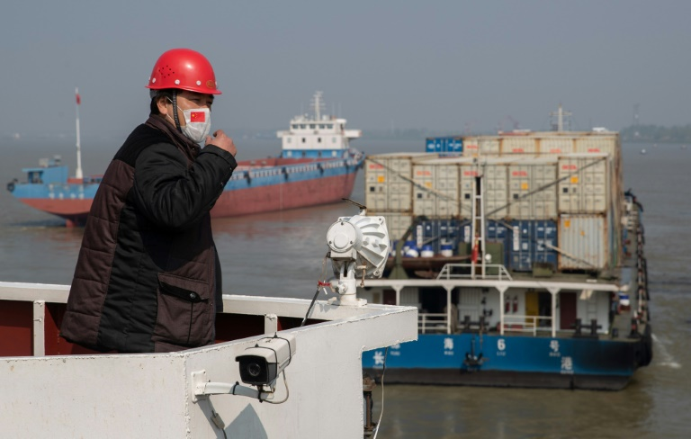 European shares jump on China trade data, coronavirus hopes