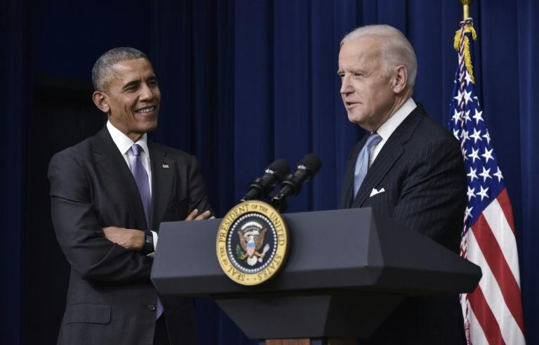 Former US president Barack Obama endorsed his vice president Joe Biden's 2020 White House bid