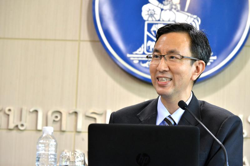 Don Nakornthab, senior director for the economic and policy department of the Bank of Thailand. (Bank of Thailand photo)
