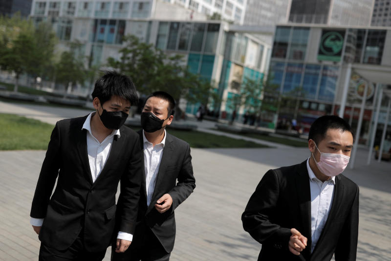 China reports 16 new coronavirus cases, lowest since March 17
