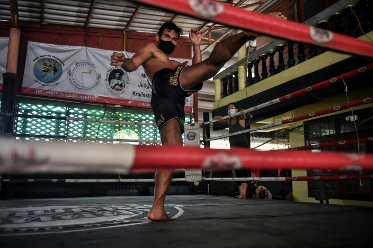 Thousands of Muay Thai fighters have been left out of work by the coronavirus.
