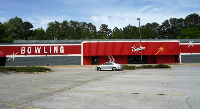 The coronavirus pandemic continues to ravage the United States, but Georgia plans to allow some businesses to reopen, bowling alleys included -- like this one in Lawrenceville