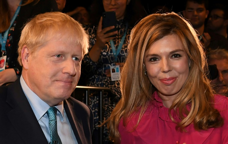 Johnson has been publicly dating Symonds since early 2019.