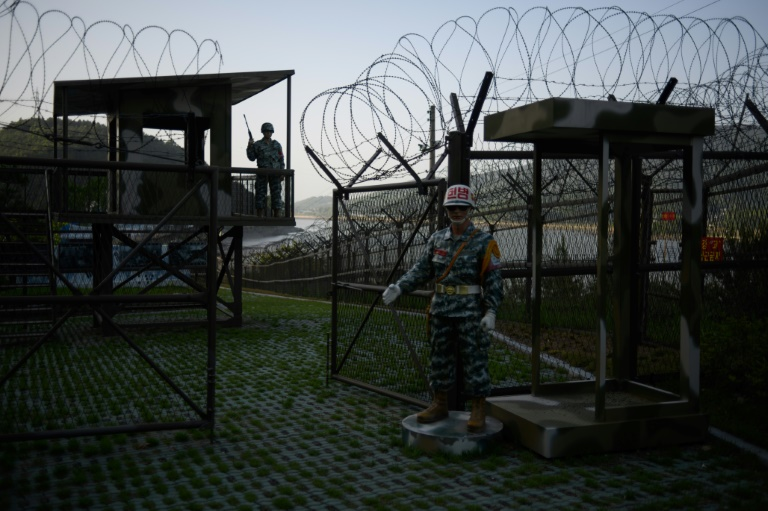 The Demilitarized Zone dividing North and South Korea is one of the most fortified places in the world.