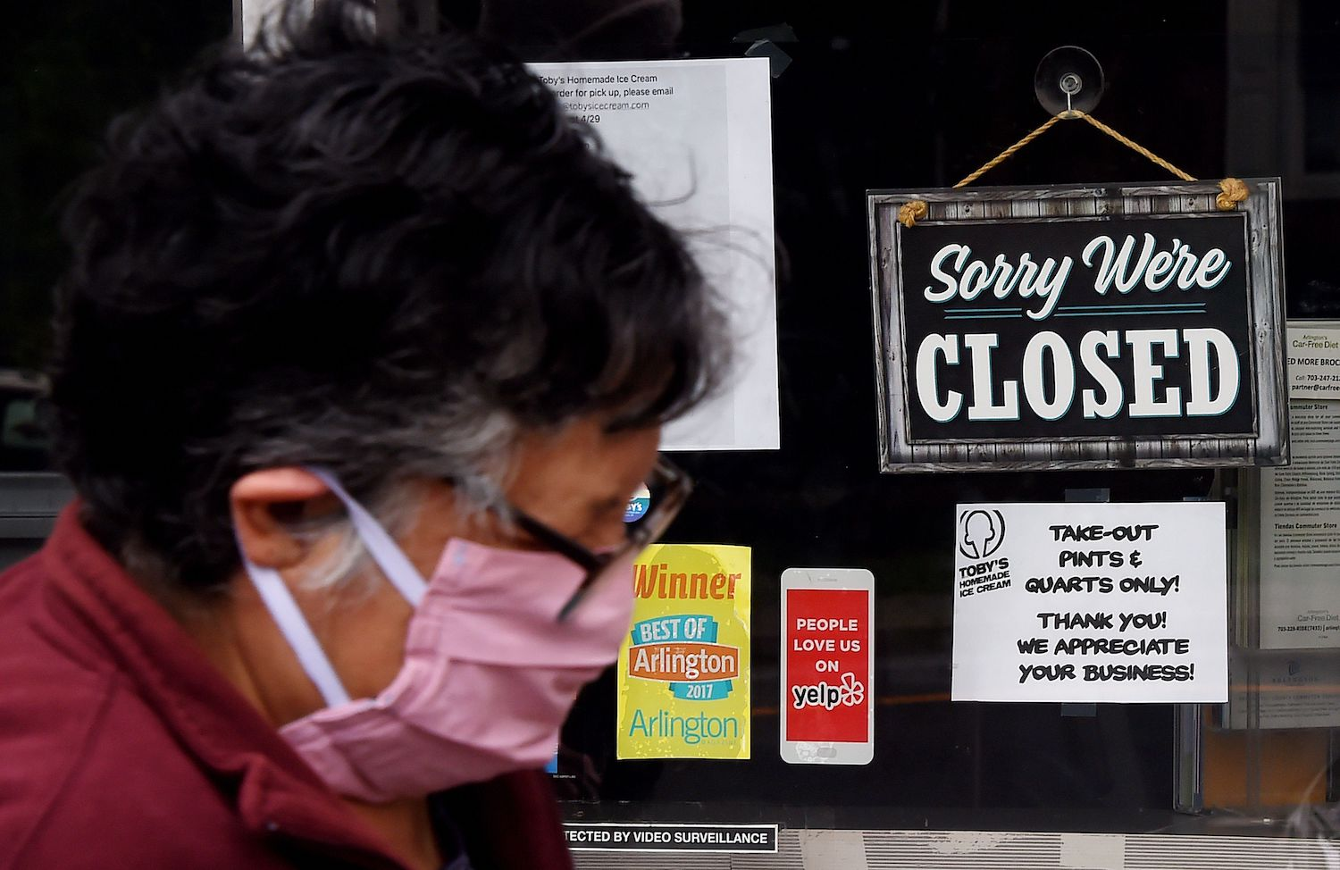 Pandemic destroys 20.5m United States  jobs in April in historic collapse