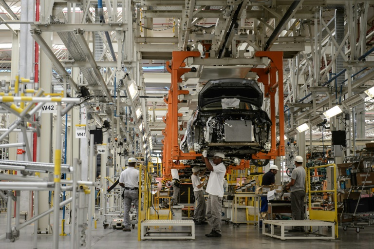 Nissan is one of the many automakers producing in Brazil, at its Resende complex outside Rio de Janeiro -- auto production in Brazil took a major hit in April 2020 due to the coronavirus crisis.