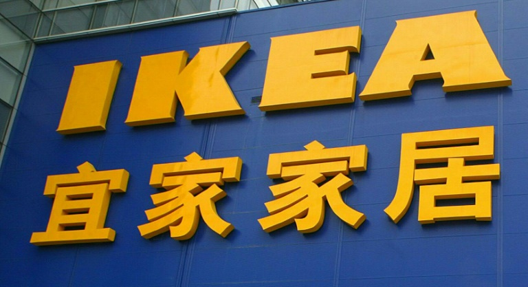 Uncensored versions of the video have been scrubbed from Chinese social media, but Ikea's response has gained nine million views.