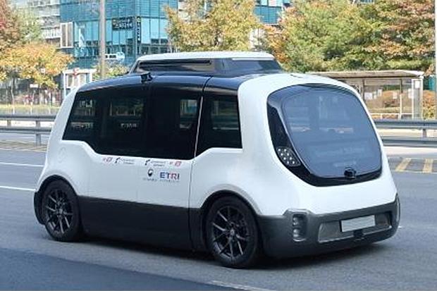 Autonomous bus. (Photo by Seoul City government via Pulse)