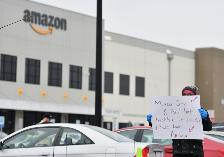 Amazon warehouses have been the site of worker protests as the company's role to meet consumer demands during the pandemic has risen.