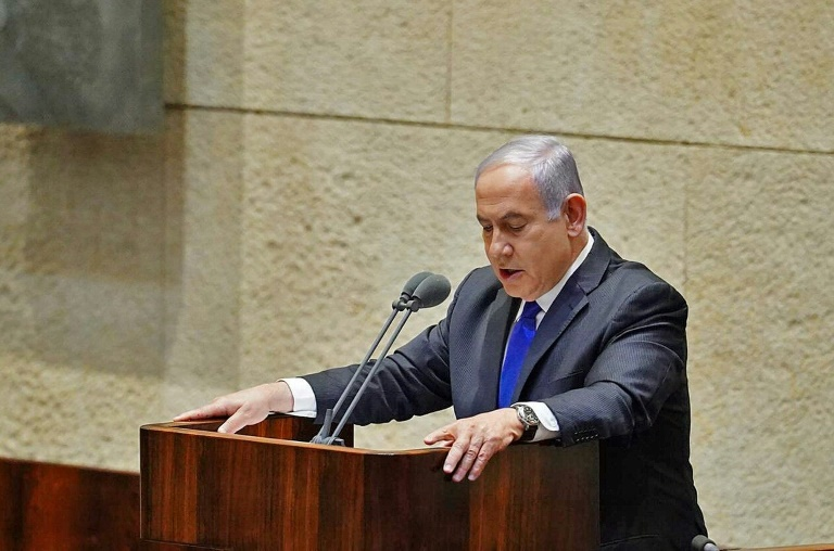 Israeli new power-sharing government sworn in