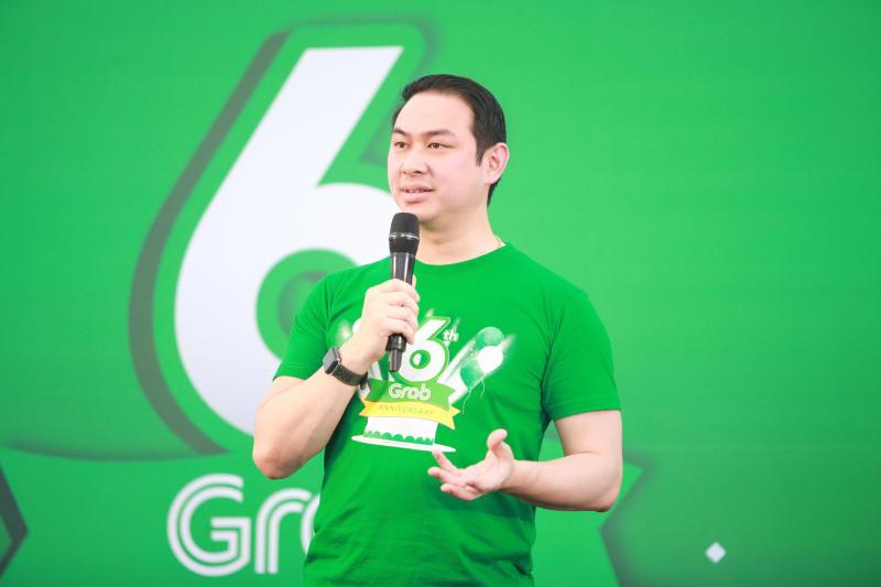 Tarin Thaniyavarn, head of Grab Thailand. (Photo supplied)